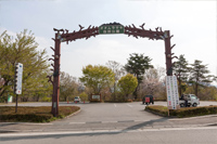 オオムラサキセンター入口