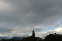 20140613茅ヶ岳と虹