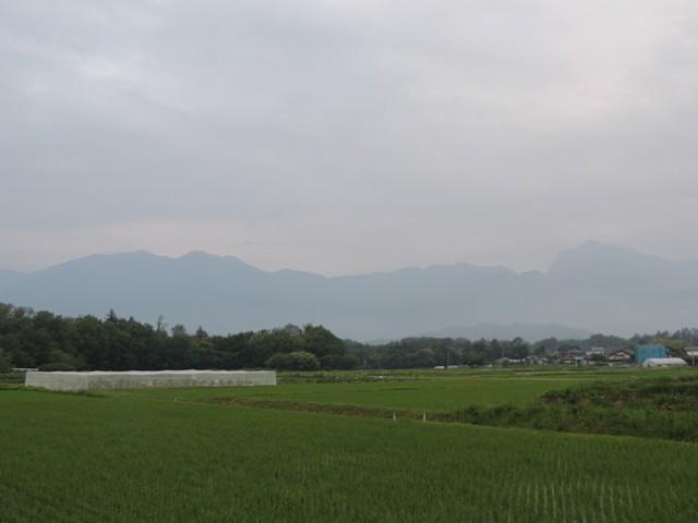 20140618甲斐駒と鳳凰三山