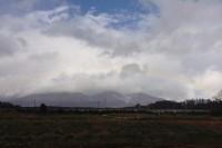 20141201虹と八ヶ岳