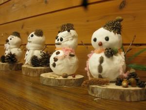 20141214 - 雪だるま作ろう♪「どの雪だるまもかわいいです♪」