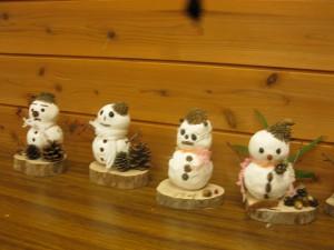 20141214 - 雪だるま作ろう♪「素敵な雪だるまができました♪」