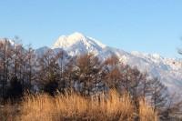 20150125甲斐駒ケ岳