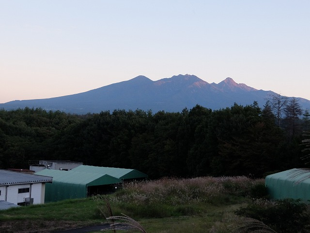 20150930須玉工業団地から見た八ヶ岳S0484096