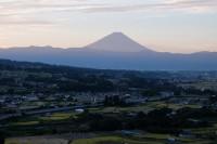 20150930須玉中央道の上富士山