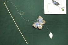 20160309 - 工作:オオムラサキのミニ凧 (4)