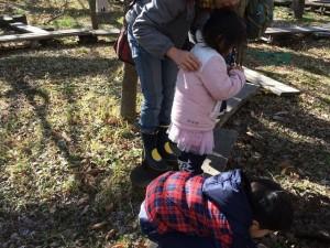 20160221 - 生態観察施設でムーちゃん観察