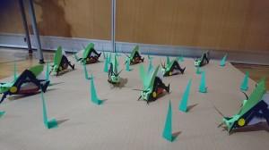 昆虫アート2